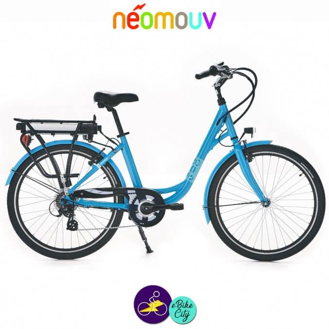 NEOMOUV LINARIA 15.4Ah, couleur taupe et cadre de 44cm avec système d'assistance 250W-Vélo électrique pour Femmes