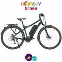 NEOMOUV MONTANA BROSE 13Ah, couleur anthracite et cadre de 44cm avec système d'assistance BROSE-Vélo électrique pour Hommes