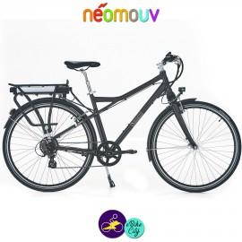 NEOMOUV MONTANA 15.4Ah, couleur taupe et cadre de 48cm avec système d'assistance-Vélo électrique pour Hommes