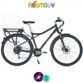 NEOMOUV MONTANA T 15.4Ah, couleur taupe et cadre de 48cm avec système d'assistance-Vélo électrique pour Hommes