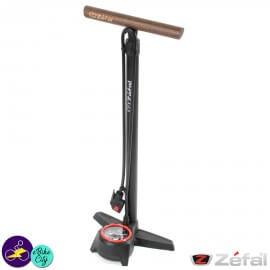 Pompe de gonflage à pied noire Zéfal PROFIL MAX FP60
