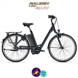 """Raleigh DOVER 8 HS 14.5Ah, roues de 28"""" hauteur du cadre 50cm avec système d'assistance IMPULSE 2.0-Vélo électrique pour Femmes"""