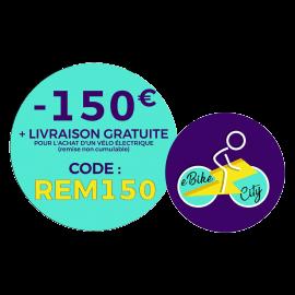 Remise de 150€ pour l'achat d'un vélo électrique-REMISE VAE