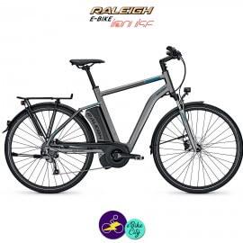 Raleigh STOKER 9 EVO 13Ah, cadre 50cm de couleur gris mat avec système d'assistance IMPULSE EVO-Vélo électrique pour Hommes