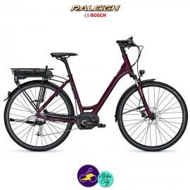 Raleigh STOKER B9 ALIVIO 13,4Ah, hauteur du cadre 55cm avec système d'assistance BOSCH PERFORMANCE-Vélo électrique pour Femmes