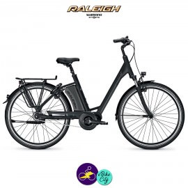 Raleigh CORBY 7 13Ah avec système d'assistance SHIMANO STEPS-Vélo électrique pour Femmes