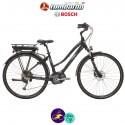 """LOMBARDO e-ROMA 11,1Ah, hauteur du cadre 17"""" avec système d'assistance BOSCH ACTIVE-Vélo électrique pour Femmes"""