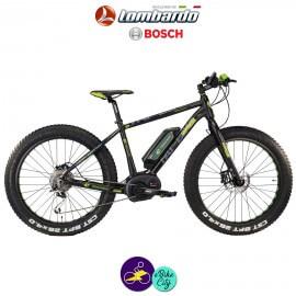 """LOMBARDO-IVREA FAT 11,1Ah, hauteur du cadre 16"""" avec système d'assistance BOSCH PERFORMANCE CX-Vélo électrique pour Femmes"""