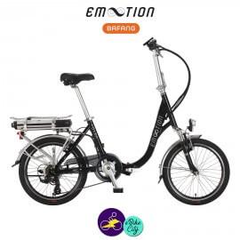 E-MOTION-FOLDA 13Ah, hauteur du cadre 41cm avec système d'assistance BAFANG SWX01-Vélo électrique pliant Mixte