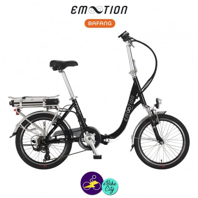 E-MOTION-FOLDA 13Ah avec système d'assistance BAFANG SWX01-Vélo électrique pour Femmes