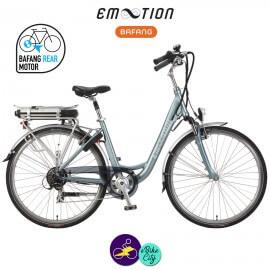 E-MOTION-OPUS 13Ah, hauteur du cadre 42cm avec système d'assistance BAFANG SWX01-Vélo électrique pour Femmes
