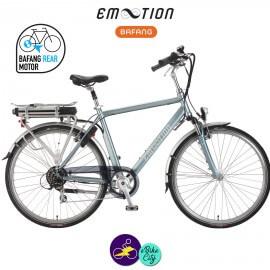 E-MOTION-OPUS 13Ah, hauteur du cadre 52cm avec système d'assistance BAFANG SWX01-Vélo électrique pour Hommes