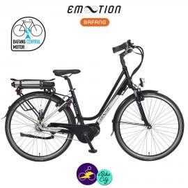 E-MOTION-ATRIUM 13Ah, hauteur du cadre 46cm avec système d'assistance BAFANG MAX DRIVE G33-Vélo électrique pour Femmes