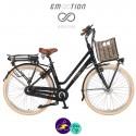 E-MOTION-CARGO 13Ah, hauteur du cadre 47cm avec système d'assistance SHENGYI DGW10A-FA-Vélo électrique pour Femmes