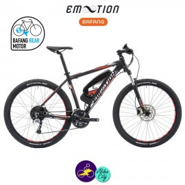 E-MOTION-ALPE D'HUEZ 11,4Ah, hauteur du cadre 48cm avec système d'assistance BAFANG RM G12.250.DC-Vélo électrique pour Hommes