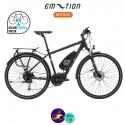 E-MOTION-AVORIAZ 11,4Ah, hauteur du cadre 43cm avec système d'assistance BAFANG MAX DRIVE G33-Vélo électrique pour Hommes