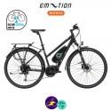 E-MOTION-AVORIAZ 11,4Ah, hauteur du cadre 43cm avec système d'assistance BAFANG MAX DRIVE G33-Vélo électrique pour Femmes