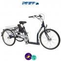 PFIFF-NAPOLI 2 9Ah avec système d'assistance ANSMANN 36V/250W-Vélo électrique 3 roues