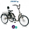 PFIFF-COMFORT-E 9Ah avec système d'assistance ANSMANN 36V/250W-Vélo électrique 3 roues