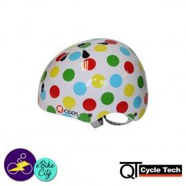 Casque pour enfants POLKA de la marque QT CYCLE TECH