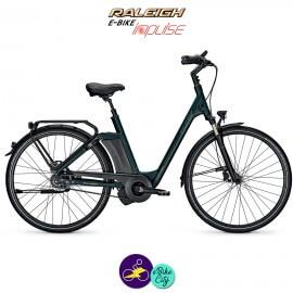 Raleigh NEWGATE PREMIUM 17Ah avec système d'assistance IMPULSE EVO-Vélo électrique pour Femmes