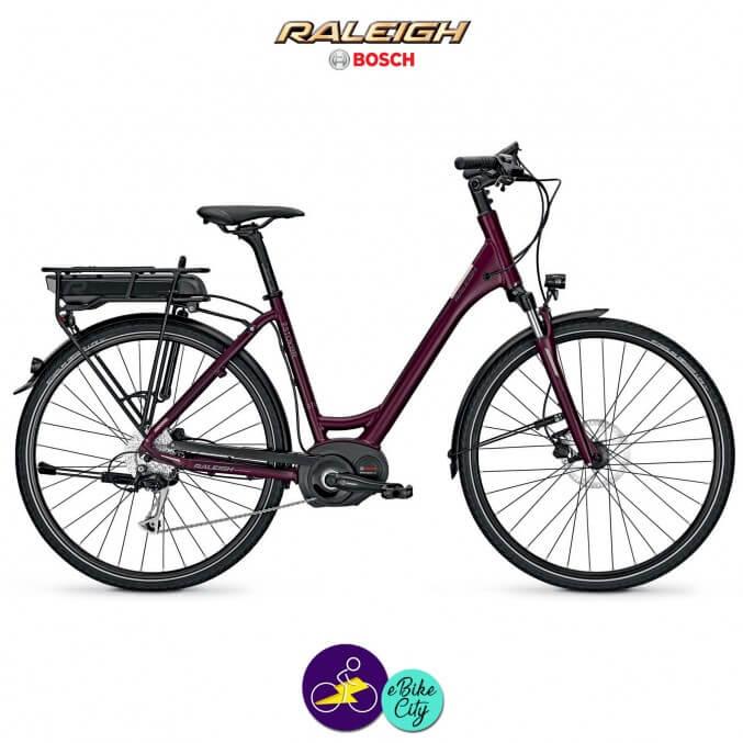 Raleigh STOKER B9 ALIVIO 13,4Ah avec système d'assistance BOSCH PERFORMANCE-Vélo électrique pour Femmes