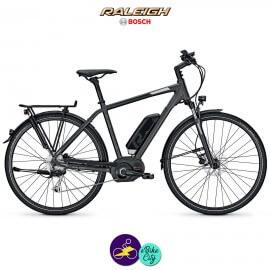 Raleigh CARDIFF B8 13.4Ah, hauteur du cadre 55cm avec système d'assistance BOSCH ACTIVE-Vélo électrique pour Hommes