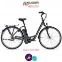 Raleigh DOVER 7 11Ah, cadre 55cm couleur rouge cerise avec système d'assistance IMPULSE 2.0-Vélo électrique pour Femmes