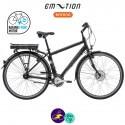 E-MOTION-DEAUVILLE 11,6Ah, hauteur du cadre 48cm avec système d'assistance BAFANG FM G02-Vélo électrique pour Hommes