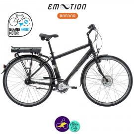 E-MOTION-DEAUVILLE 11,6Ah, hauteur du cadre 43cm avec système d'assistance BAFANG FM G02-Vélo électrique pour Hommes