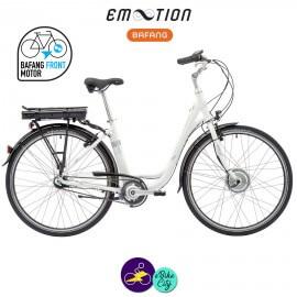 E-MOTION-DEAUVILLE 11,6Ah, hauteur du cadre 48cm avec système d'assistance BAFANG FM G02-Vélo électrique pour Femmes
