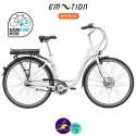 E-MOTION-DEAUVILLE 11,6Ah, hauteur du cadre 43cm avec système d'assistance BAFANG FM G02-Vélo électrique pour Femmes