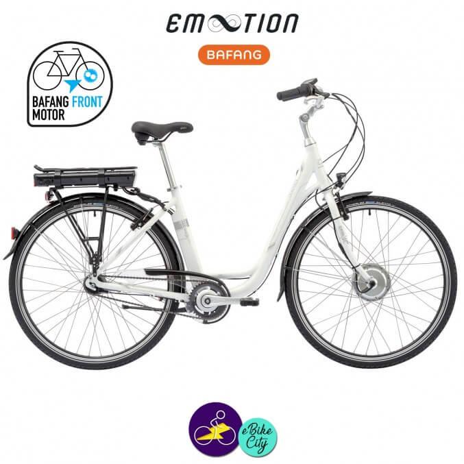 E-MOTION-DEAUVILLE 11,6Ah avec système d'assistance BAFANG FM G02-Vélo électrique pour Femmes