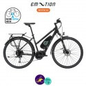 E-MOTION-AVORIAZ 11,4Ah, hauteur du cadre 48cm avec système d'assistance BAFANG MAX DRIVE G33-Vélo électrique pour Femmes
