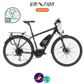 E-MOTION-AVORIAZ 11,4Ah, hauteur du cadre 53cm avec système d'assistance BAFANG MAX DRIVE G33-Vélo électrique pour Hommes