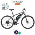 E-MOTION-LUBERON 11,4Ah, hauteur du cadre 48cm avec système d'assistance BAFANG RM G12.250.DC-Vélo électrique pour Hommes