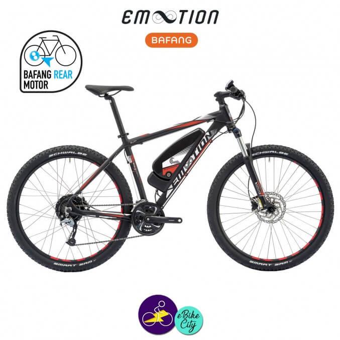 E-MOTION-ALPE D'HUEZ 11,4Ah avec système d'assistance BAFANG RM G12.250.DC-Vélo électrique pour Hommes