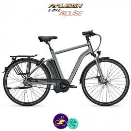 Raleigh BOSTON PREMIUM 17,5Ah, hauteur du cadre 55cm avec système d'assistance IMPULSE EVO-Vélo électrique pour Hommes