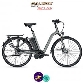 Raleigh BOSTON PREMIUM 17,5Ah, hauteur du cadre 50cm avec système d'assistance IMPULSE EVO-Vélo électrique pour Femmes