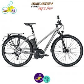 Raleigh STOKER S10 EVO 17,5Ah (45km/h), cadre 50cm avec système d'assistance IMPULSE EVO SPEED-Vélo électrique pour Femmes