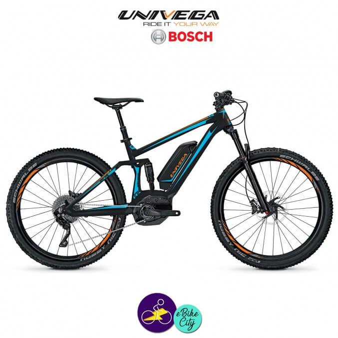 UNIVEGA RENEGADE BS 3.0 11,1Ah avec système d'assistance BOSCH PERFORMANCE CX-Vélo électrique pour Hommes