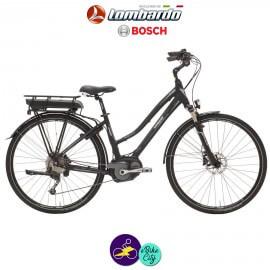"""LOMBARDO e-ROMA 11,1Ah, hauteur du cadre 21"""" avec système d'assistance BOSCH ACTIVE-Vélo électrique pour Femmes"""