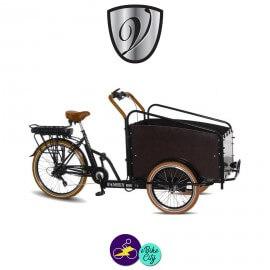 VOGUE FAMILY MOVER-TRIPORTEUR-E 13Ah avec système d'assistance 8 FUN 36V/250W-Vélo électrique 3 roues