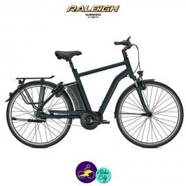 Raleigh CORBY 8 DI2 17,5Ah, hauteur du cadre 55cm avec système d'assistance SHIMANO STEPS-Vélo électrique pour Hommes