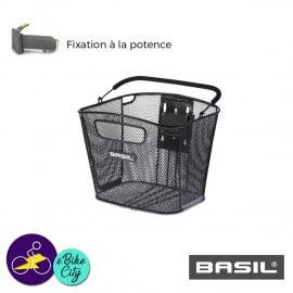 Panier avant BOLD AMOVIBLE BASEASY de la marque BASIL avec fixation potence N°1