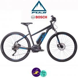 """FUJI AMBIENT 27.5+ 1.1-13,4Ah, hauteur du cadre 17"""" avec système d'assistance BOSCH PERFORMANCE LINE-Vélo électrique pour Homme"""