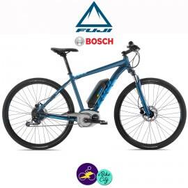 """FUJI E-TRAVERSE CLASSIC 11Ah, hauteur du cadre 21"""" avec système d'assistance BOSCH ACTIVE LINE -Vélo électrique pour Hommes"""