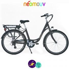 NEOMOUV LINARIA 15.4Ah, couleur taupe et cadre de 44cm avec système d'assistance-Vélo électrique pour Femmes