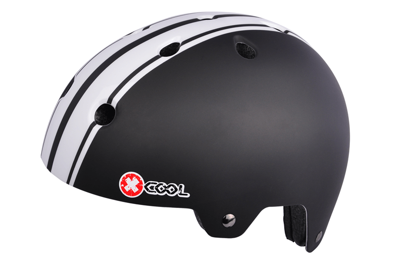 2810909-Helm-XCool-Pinstripes-zwart-wit.